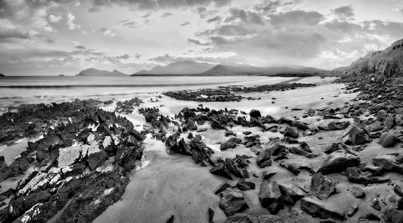 Coasts of Ireland #36 - Smerwick Harbor -  CF004529.-33_Pano_bw_2560px