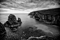 Coasts of Ireland #30 - Nohoval Coast Kinsale -  SNY01877_bw