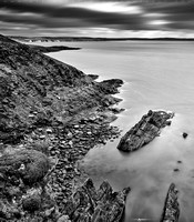 Coasts of Ireland - Old Head in BW - 3000px