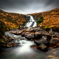 River Sligachan Waterfall