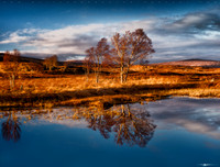 Loch Ba Reflections #1